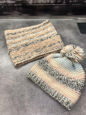 Reserved czapka+komin