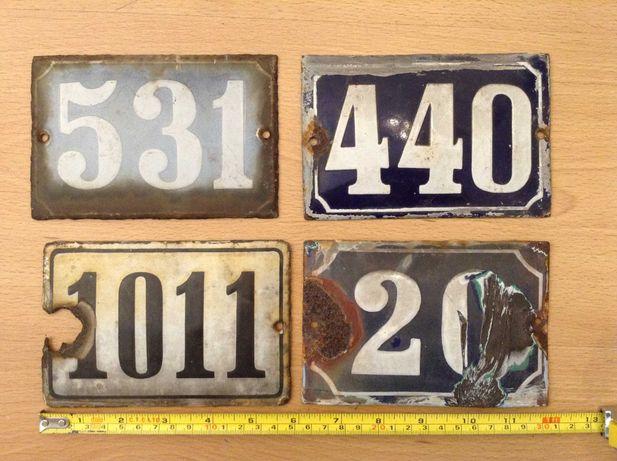 Placa em Esmalte - número de Porta  Policia - Chapas Antigas -cada 8 €