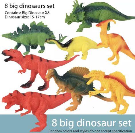Продається набір динозаврів 8шт.