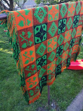 Zabytkowy antyk dywan ręcznie robiony wełna