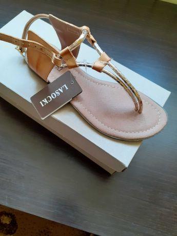 Nowe Sandały Lasocki 36