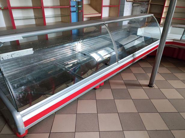 Ciąg chłodniczy witryny chłodnicze lodówki