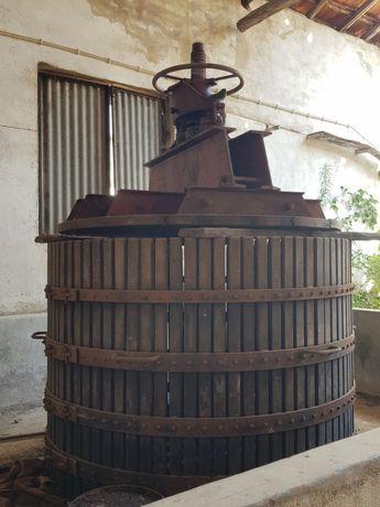 Prensa de vinho hidraulica