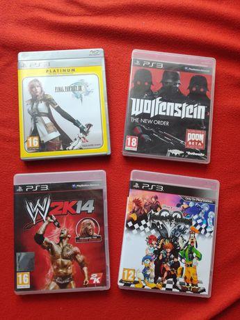 Gry W2K14 Wolfenstein the New Kingdom Hearts HD Final Fantasy XIII Ps3