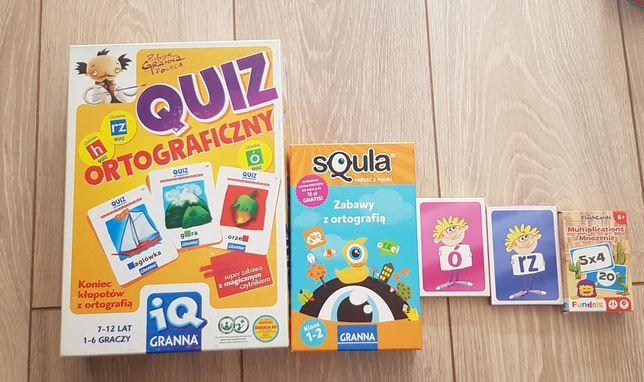 Ortografia-zestaw gier ortograficznych+ gratisy.