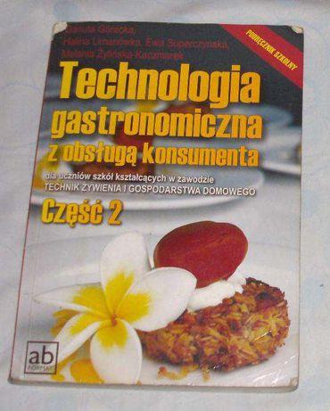 Technologia gastronomiczna obsługą konsumenta