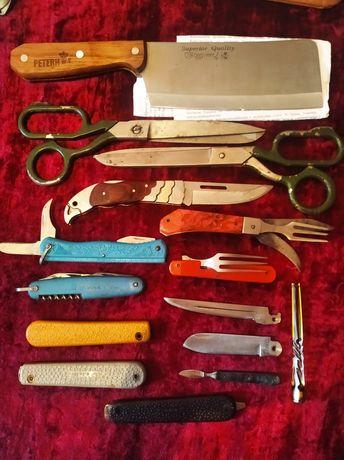 Кухонный топорик, складные ножи СССР, Ножницы СССР
