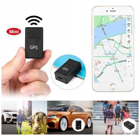 Mini LOKALIZATOR Podsłuch GPS Magnez gf-07 SIM GSM Track