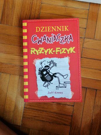 Książka dziennik cwaniaczka ryzyk fizyk