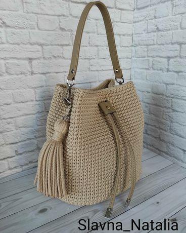 Продам вязаные сумки
