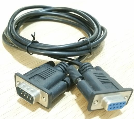 Kabel szeregowy, COM RS-232 DB9 1,8m