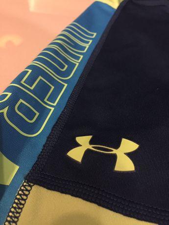 Leginsy i bluza z kapturem, spodnie sportowe legginsy 134 Under Armour
