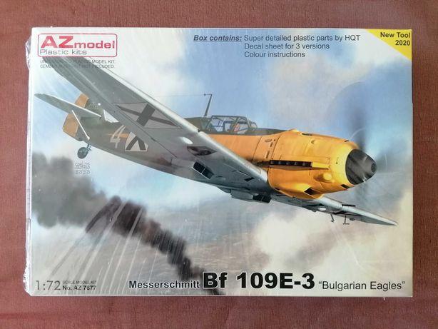 "1/72 AZ Model AZ7677 Messerschmitt Bf.109 E-3 ""Bulgarian Eagles"""