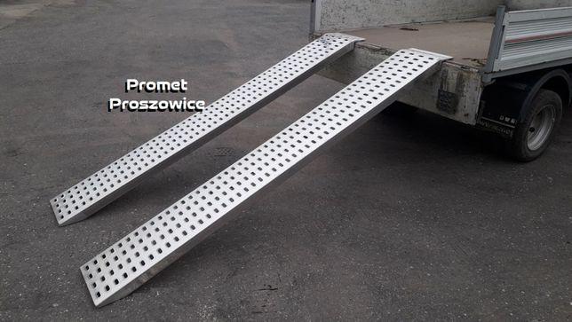 Trapy 2,5m-3m dla Koparki do 3T Podjazdy Aluminiowe Najazdy 2szt