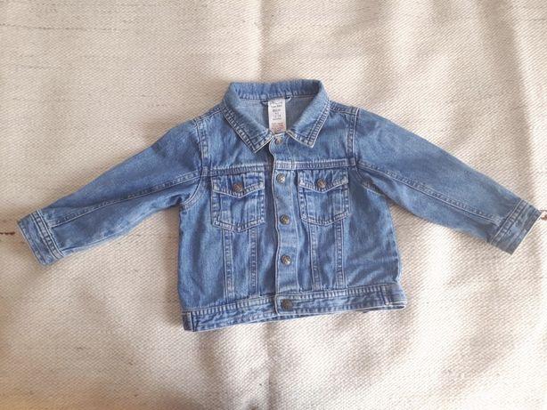 Kurtka jeansowa r. 86