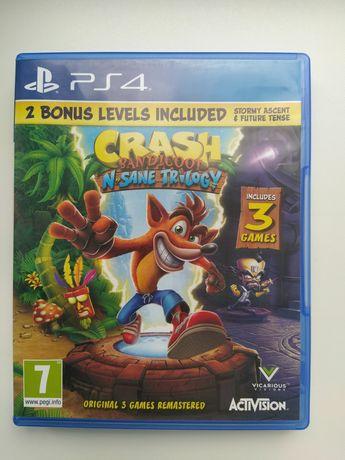 Crash bandicoot trilogy.Диски на Ps4. Обмен. Продажа.
