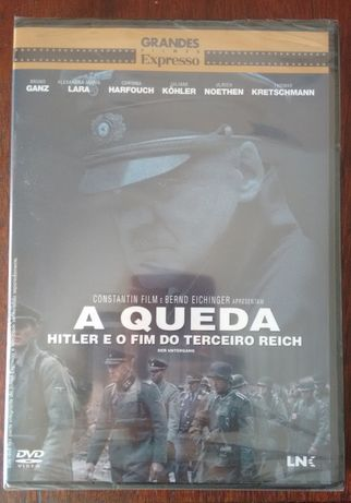"""Filme DVD """"A Queda - Hitler e o fim do Terceiro Reich"""" (Selado)"""