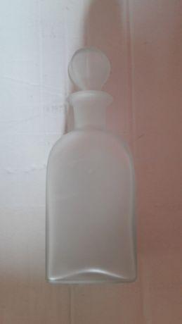 4 Garrafas vidro fosco 30 cm