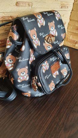 Детский рюкзак с мишками