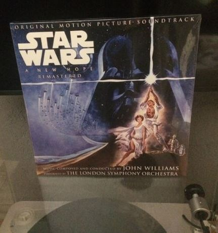 Star Wars A New Hope Soundtrack 2LP