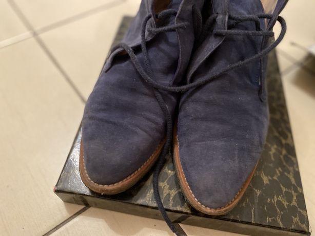 Manolo Blanic дезерты челси замша синие