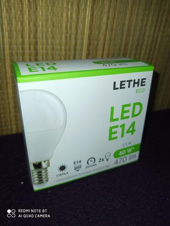 Żarówki LED E14 barwa ciepła 2szt.