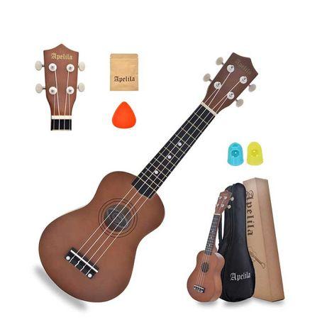 Укулеле сопрано (гавайська гітара) APELILA (Комплект). Знижка -10%