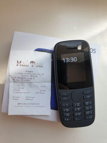 Nokia 105 Телефон кнопочний