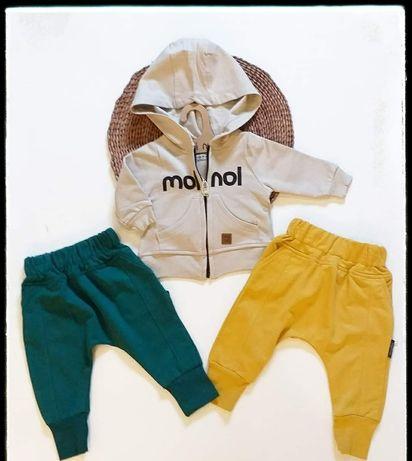 Spodnie Moi noi mogą być zarówno dla chłopca jak i dziewczynki.