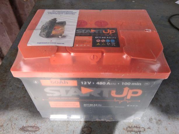 Аккумулятор 60 А/Ч свежий с гарантией