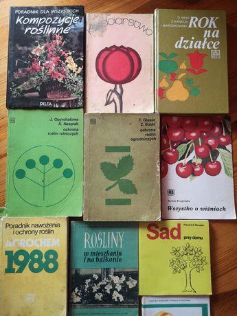 Książki działka sad rośliny
