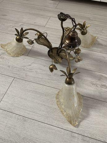 Żyrandol lampa sufitowa 3 klosze