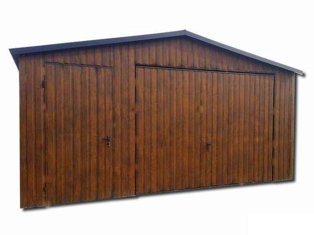 ORZECH 5x6 garaż blaszany, blaszak, schowek gospodarczy