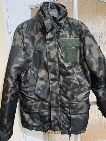 Nowa Zimowa kurtka wojskowa z rzepami rozmiar s tylko dziś gratis