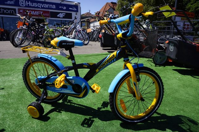 Rower dzieciący KID BMX 18 3LATA GWAR Monteria