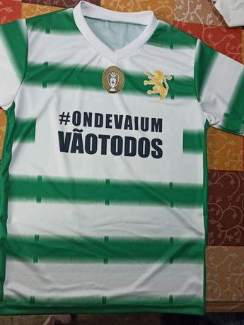 Camisola t-shirt Sporting Campeão 2020/2021 para entrega imediata