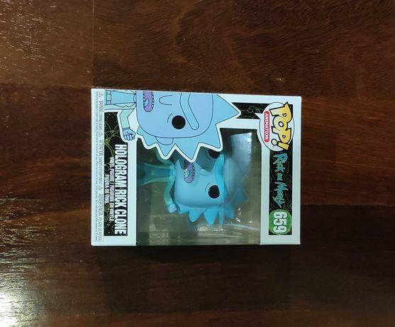 Pop Figure Rick and Morty: Hologram Rick Clone - 659