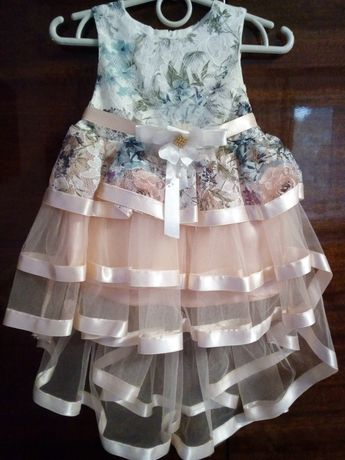 Нарядное платье, 1-2лет
