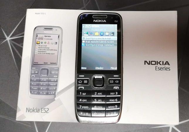 Telefon NOKIA e52 + akcesoria