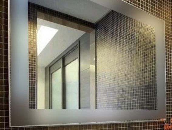 Зеркало с подогревом в ванную комнату