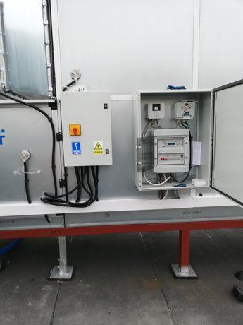 Montaz automatyki central wentylacyjnych