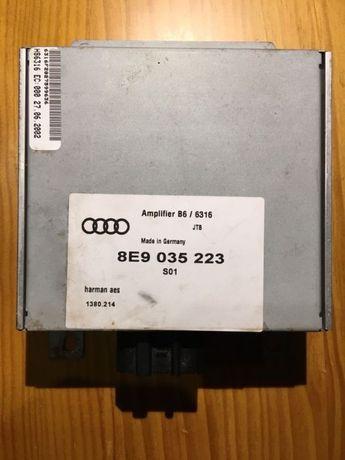 Ampliador som + coluna de subwofer Audi A4
