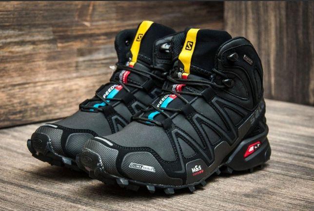 Ботинки кросовки Solomon 45-46 29.5 см,gore tex