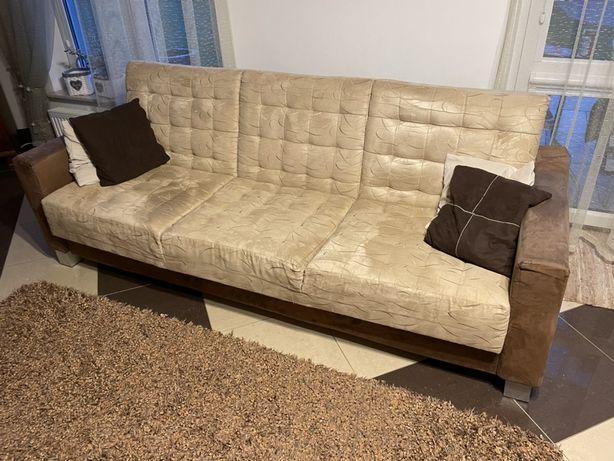 Zestaw wypoczynkowy 140x200 + 2 fotele