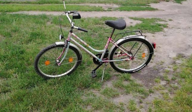 rower dziewczęcy koła 24