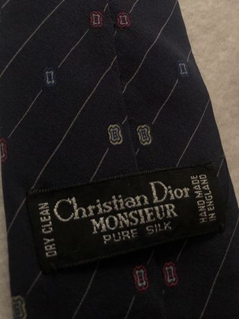 Галстук Christian Dior оригинал винтаж 100% шёлк