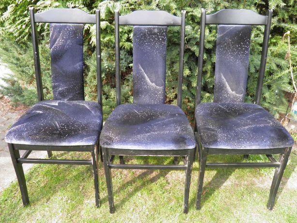 krzesła tapicerowane używane 1-2-3 sztuki TONIO
