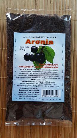 Sok z aronii w formie koncentratu do zaparzania