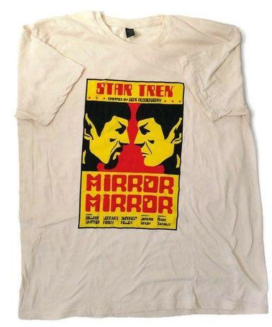 T-shirt Mirror Mirror Spook Star Trek. Exclusivo Lootcrate