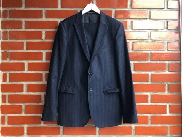 Tommy Hilfiger мужской шерстяной классический костюм двойка размер XL